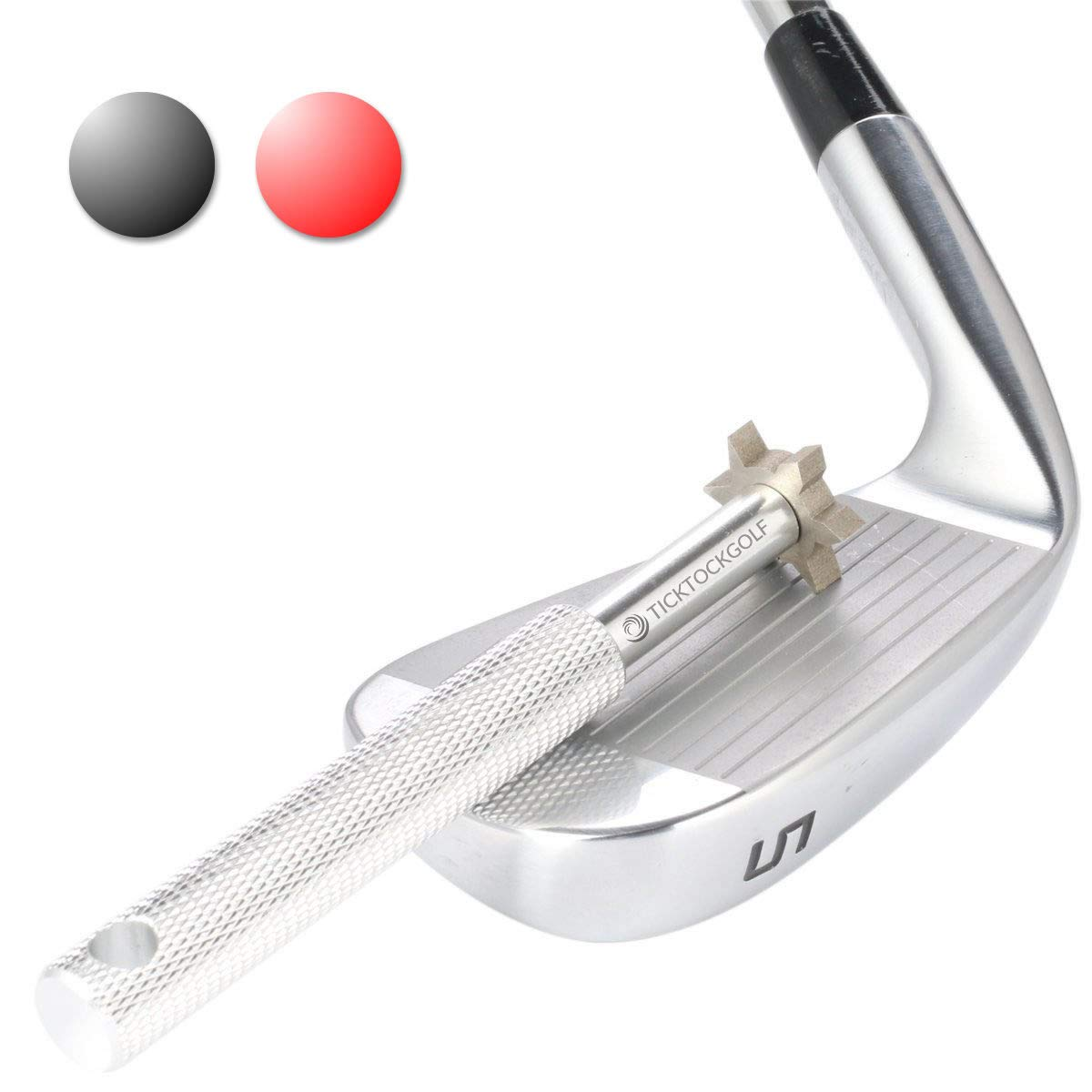Afilador de ranura Golf. Limpiador de Club de Golf y club reparación. Golf accesorios mejora Backspin & control del balón en todas sus cuñas y ...