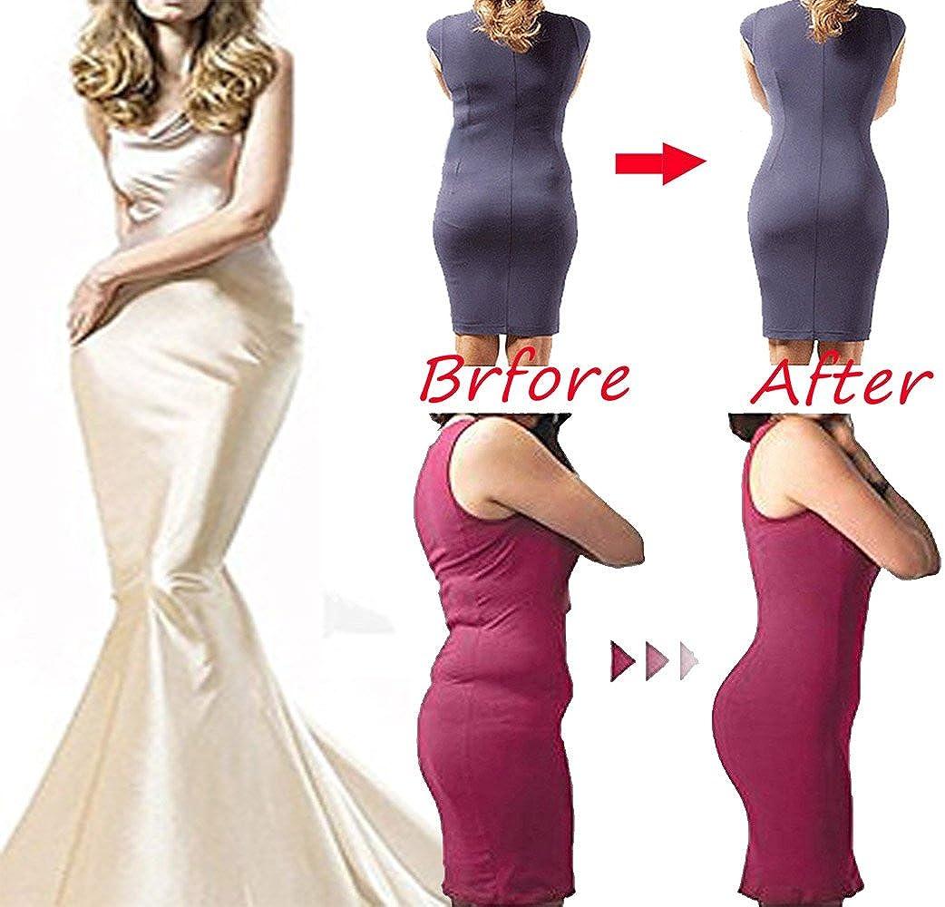 DODOING Zipper Body Briefer Firm Control Shapewear Bodysuit Wear Your Own Bra Body Shaper