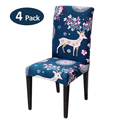 High Quality Stretch Chair Cover Spandex Printing Chair Cover Slipcover For Wedding Party Hotel Ceremony Chair Seat Covers High Quality Table & Sofa Linens Home Textile