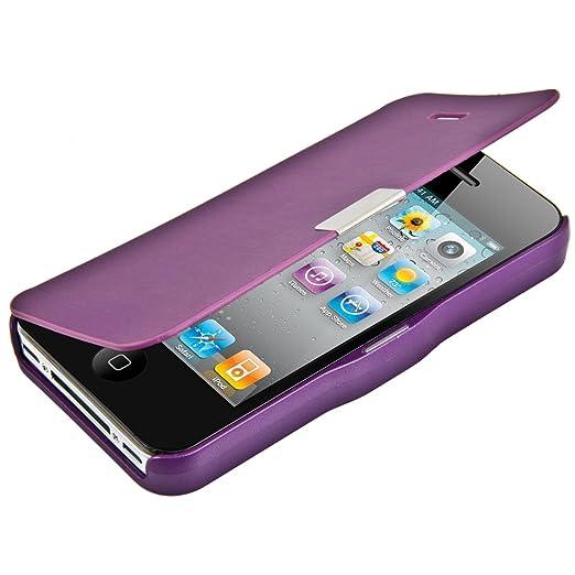307 opinioni per kwmobile Cover per Apple iPhone 4 / 4S- Custodia protettiva apribile a libro