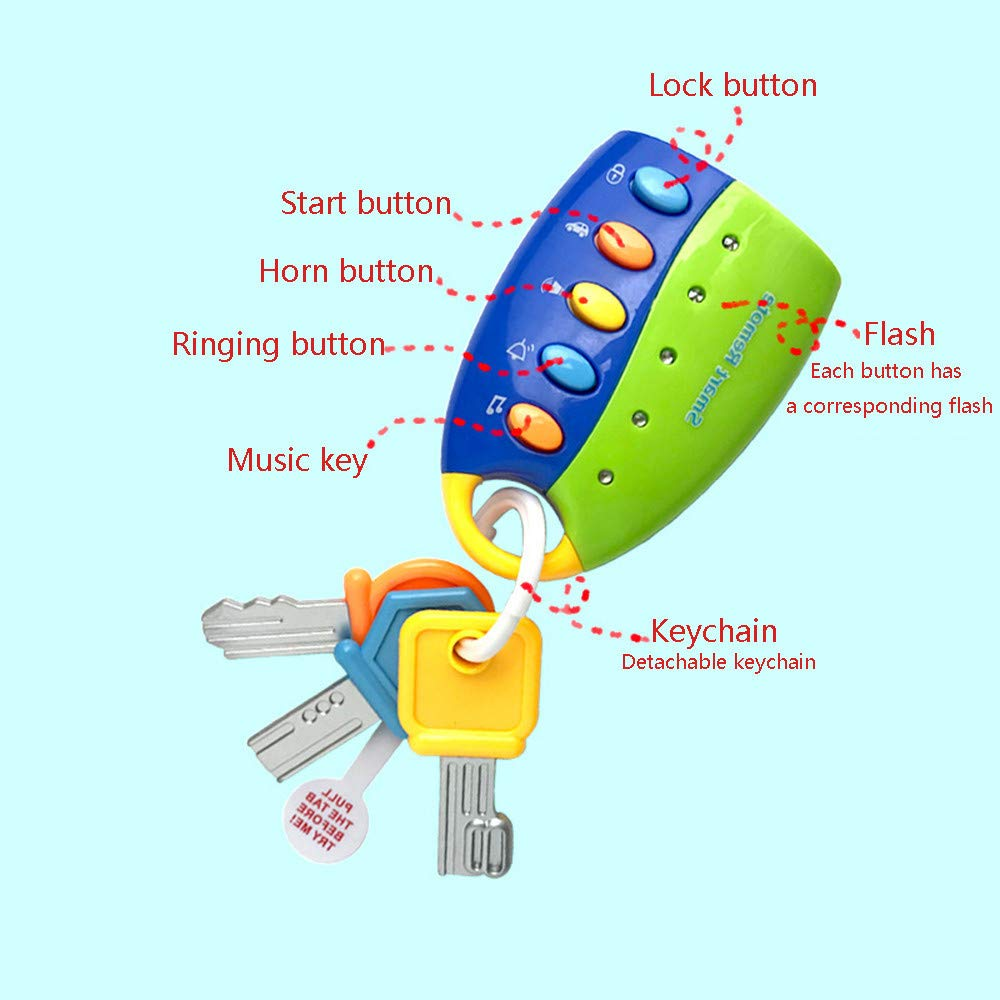 Amazon.com: LtrottedJ - Llavero de juguete para niños y ...