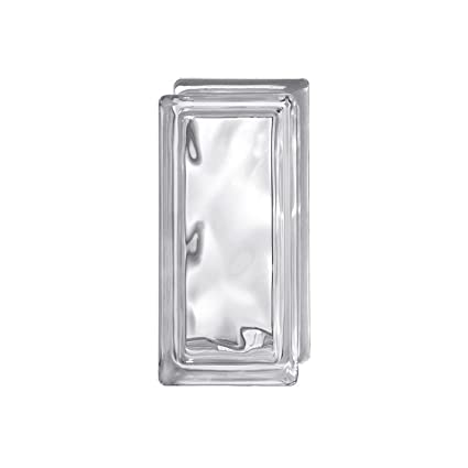 Vetrocemento Vetromattone Mattone In Vetro Ondulato Trasparente