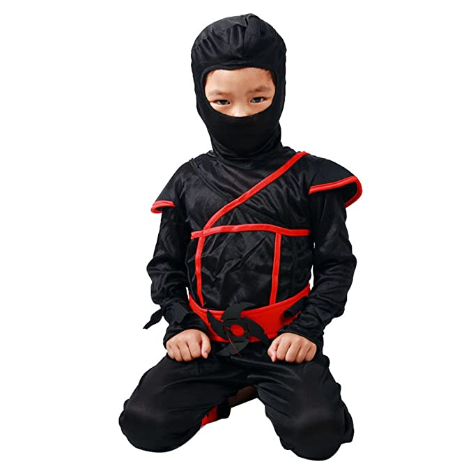 Amazon.com: JUIOKK Boy Ninja Halloween Cosplay,Toys Stealth ...