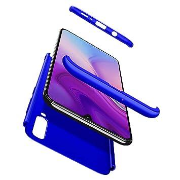BESTCASESKIN Funda Samsung Galaxy A50, Carcasa Móvil de Protección de 360° 3 en 1 Desmontable con HD Protector de Pantalla Carcasa Caso Case Cover ...