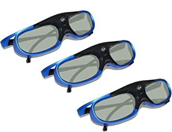 IN THE DISTANCE Obturador Activo 96-144HZ Gafas 3D Recargables ...