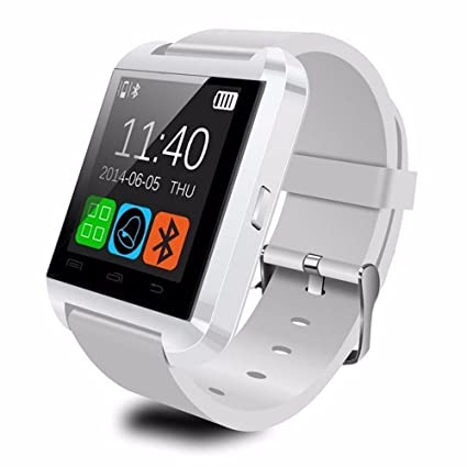 NOKKOO Bluetooth Android Smart Mobile Phone U8 Wrist Watch Smart Phone Watch Smart Barcelet for Android