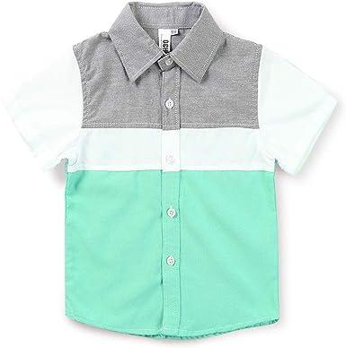 Phorecys Shirt - Camisa para niño de manga larga (algodón ...