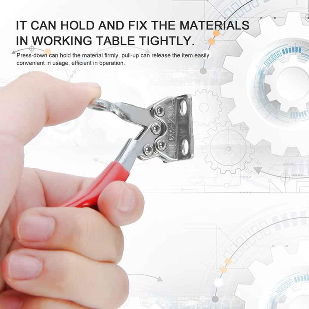 Pegcduu 2 piezas de CNC Fixture r/ápida Mordaza para /útiles m/áquina de sujeci/ón de la placa de grabado fijaci/ón de la m/áquina de grabado de fijaci/ón de la platina Carpinter/ía r/ápido Pulse abraza