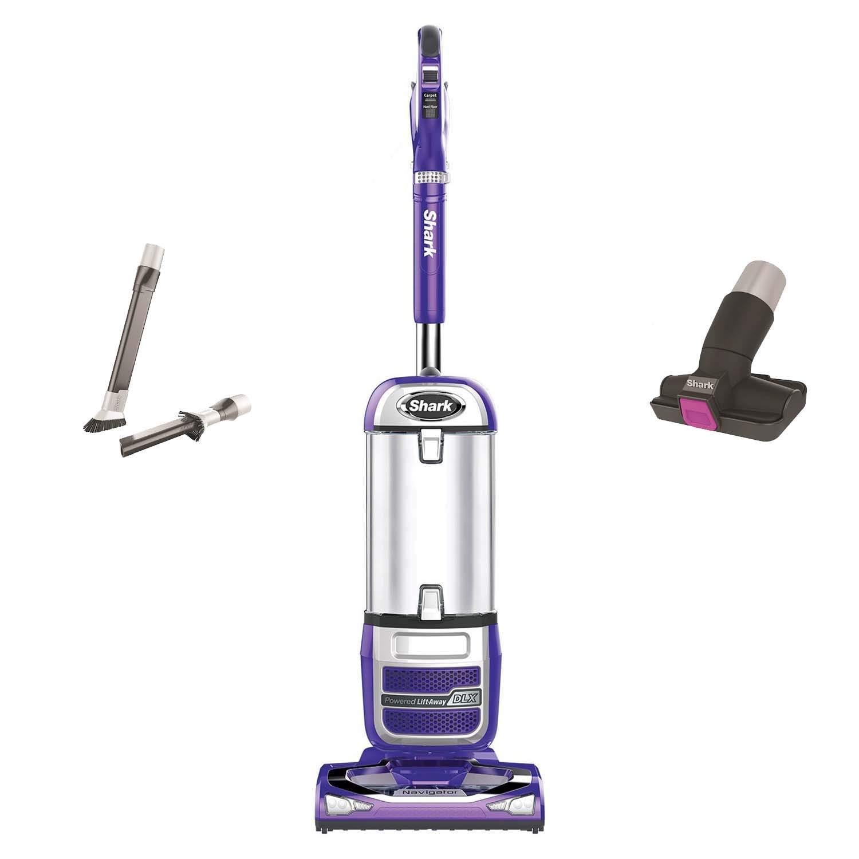Shark Navigator 2-in-1 Powered Lift-Away and Upright Vacuum, Purple   NV586