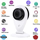 IFITech IFIC1 Indoor HD 720P Wireless Home Office Security Camera (White)