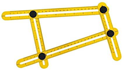 STARRICH Angleizer Template Tool ABS Measures All Angles and Forms Angle-izer Angle Template Tool