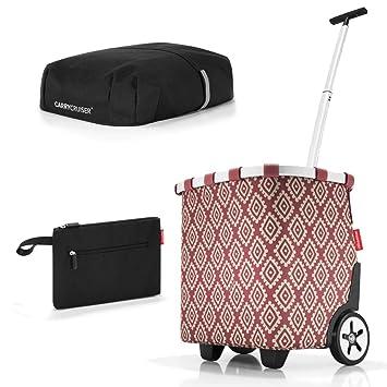 8277a1057 Reisenthel Carrycruiser Plus Cover Plus Case 2 Cesta de la Compra Bolsa de  la Compra Carro de la Compra Set Roll Funda Case cosmético: Amazon.es: Hogar