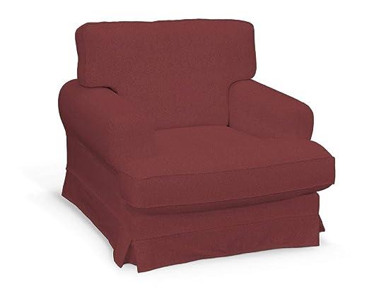 Dekoria Fire retarding IKEA EKESKOG sillón, Color borgoña ...