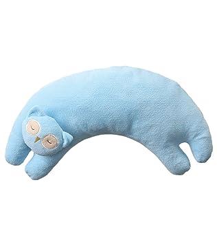 Angel Dear Curved Pillow Blue Bunny