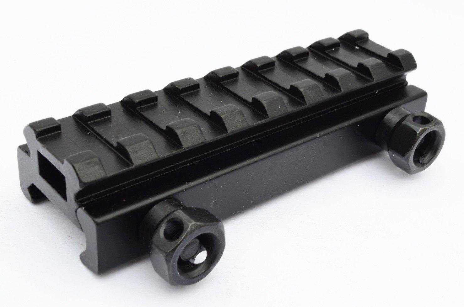 AcidTactical Picatinny Riser Flat Top Soporte para mira, 1/2Pulgadas (1,27 cm) Acid Tactical