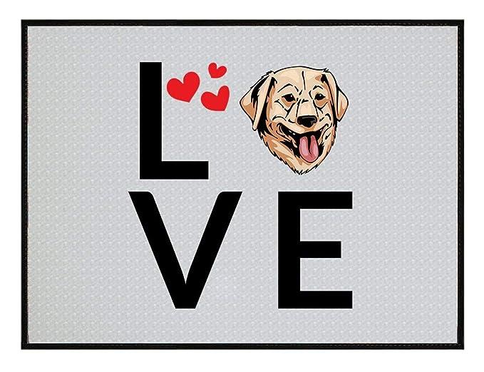 Amazoncom Golden Retriever Dog Love Hearts Kitchen Door