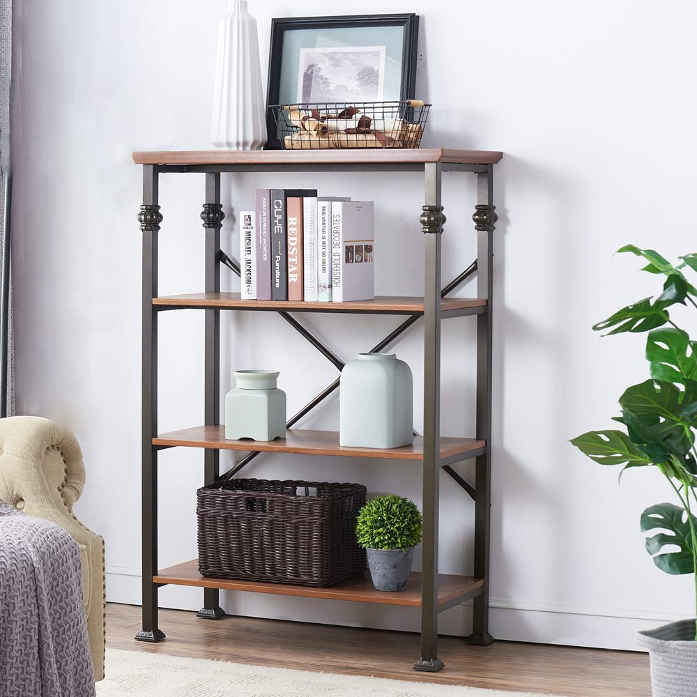 Bookcases Living Room Furniture Home Furniture Oak Solid Wood Shelf Book Rack Modern Minimalist Bookshelf Functional Cabinet New Home Furniture Furniture