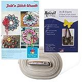 Fold 'n Stitch Wreath Kit: Pattern, Bosal Foam Stabilizer ~ 1, 2, 3, or 4 (With Foam to Make 4 Wreaths)