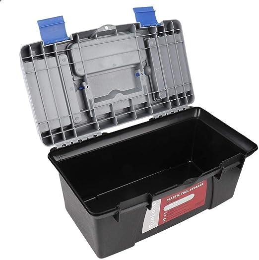 EBTOOLS Caja de Herramientas de plástico, Caja de Herramientas ...