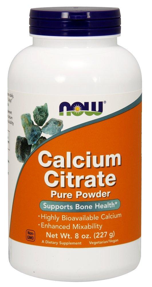 Now Foods | Citrato de Calcio (calcium citrate) | Polvo puro vegano | 8 oz (227 g) | sin gluten y soja: Amazon.es: Salud y cuidado personal