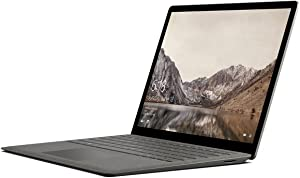 "Microsoft Surface Laptop DAJ-00021 Laptop (Windows 10 S, Intel Core i7, 13.5"" LCD Screen, Storage: 256 GB, RAM: 8 GB) Graphite Gold"