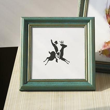 Bbdsj Creative Photo Frame Portaretrato Cuadrado 5 6 Pulgadas 7 ...