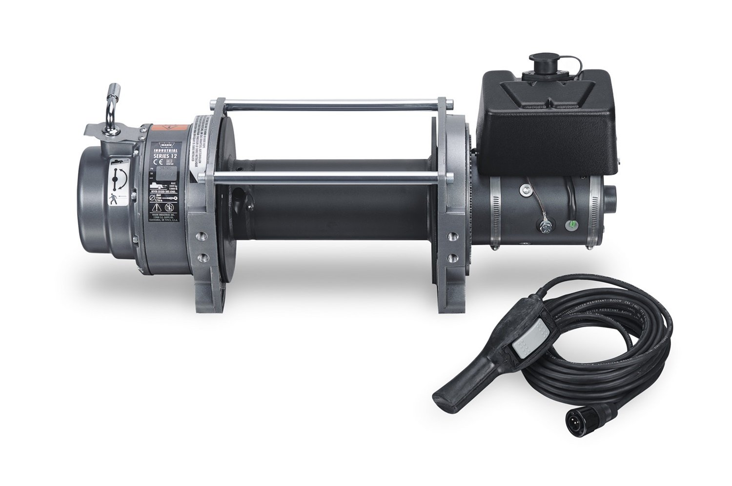 WARN 30289 Series 12 DC Industrial Electric Winch