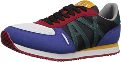 A|X Armani Exchange Retro Running Sneaker, Zapatillas ...