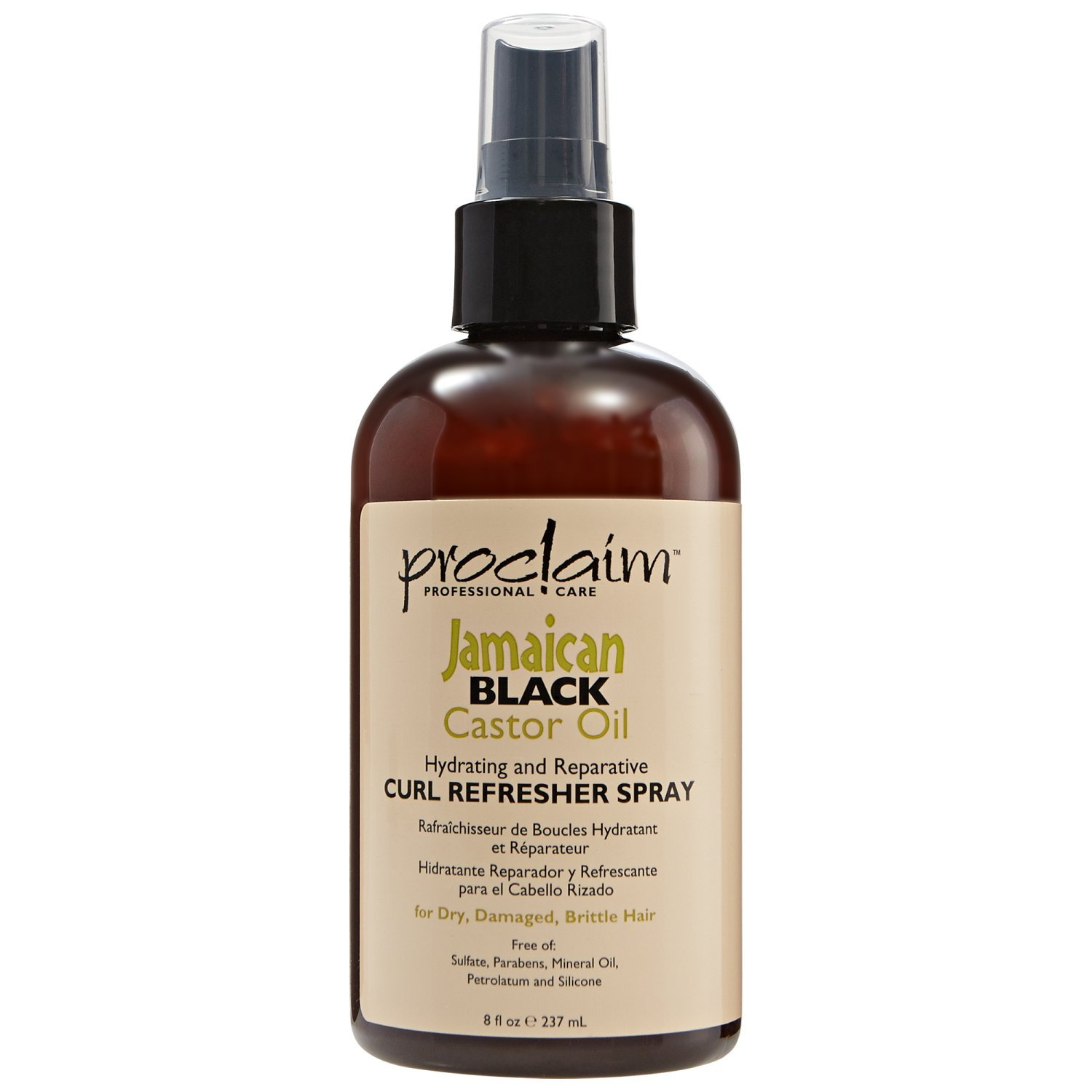 Amazon.com : Proclaim Jamaican Black Castor Oil Curl Refresher Spray : Beauty