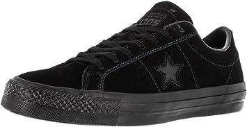 Converse Cons One Star Pro OX, Black Black Black, 12: Amazon