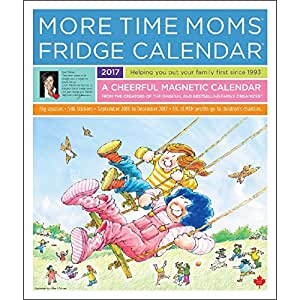 2017 more time moms fridge magnetic mount wall calendar with stickers everything else. Black Bedroom Furniture Sets. Home Design Ideas