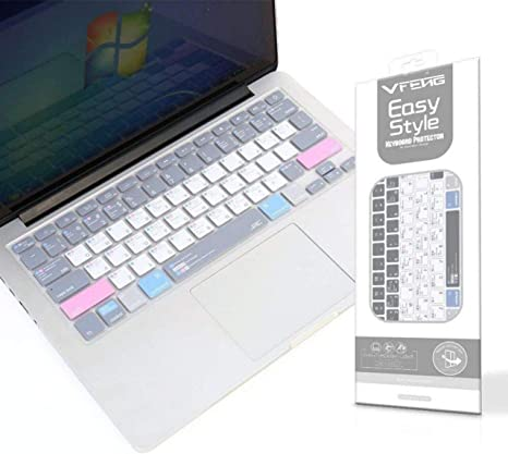 "Silicone Keyboard Cover For Apple Macbook Pro Air 13/"" 15/"" 17/"" 2015 or older"