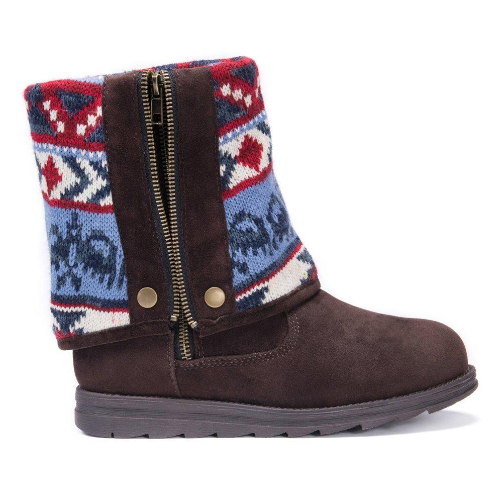 MUK LUKS Women's Demi Winter Boot B075KL4DY2 10 M US|Navy