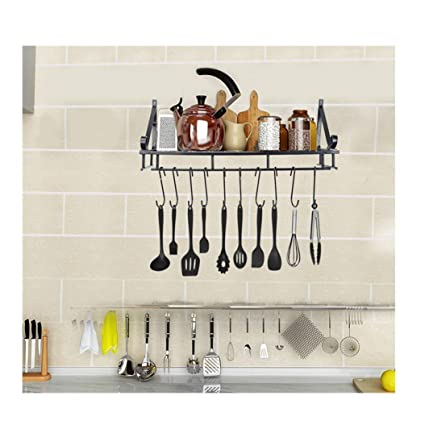 Amazon.com: Fxbar,Kitchen Shelf Kitchen Wall Hanging Pot ...