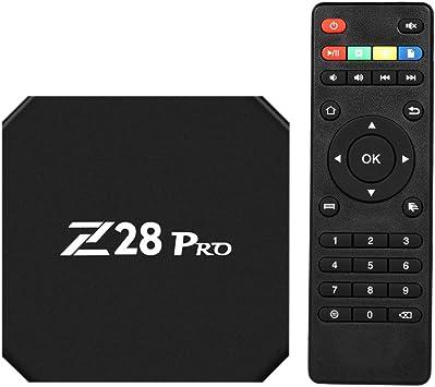 Docooler Z28 Pro Android 7.1 TV Box RK3328 Quad Core 64 Pedacitos UHD 4K VP9 H.265 USB3.0 2GB / 16GB Mini PC WiFi LAN HD Media Player Enchufe EU: Amazon.es: Electrónica