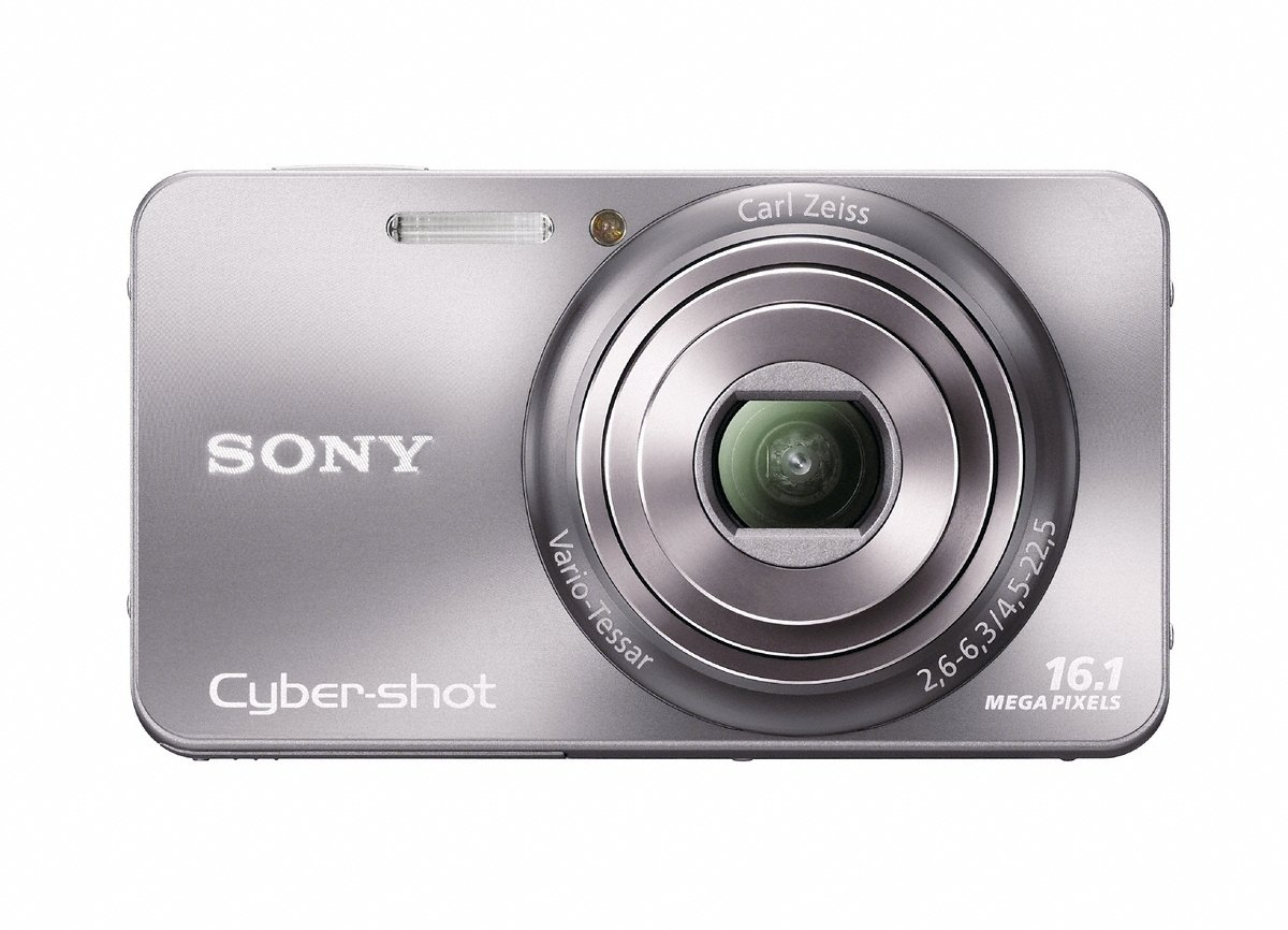 Amazon.com : Sony Cyber-Shot DSC-W570 16.1 MP Digital Still Camera with Carl  Zeiss Vario-Tessar 5x Wide-Angle Optical Zoom Lens and 2.7-inch LCD  (Silver) ...