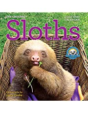 Original Sloths Mini Wall Calendar 2022: 12 Months of Irresistible Cuteness, Sloth Trivia, Stories, and Facts