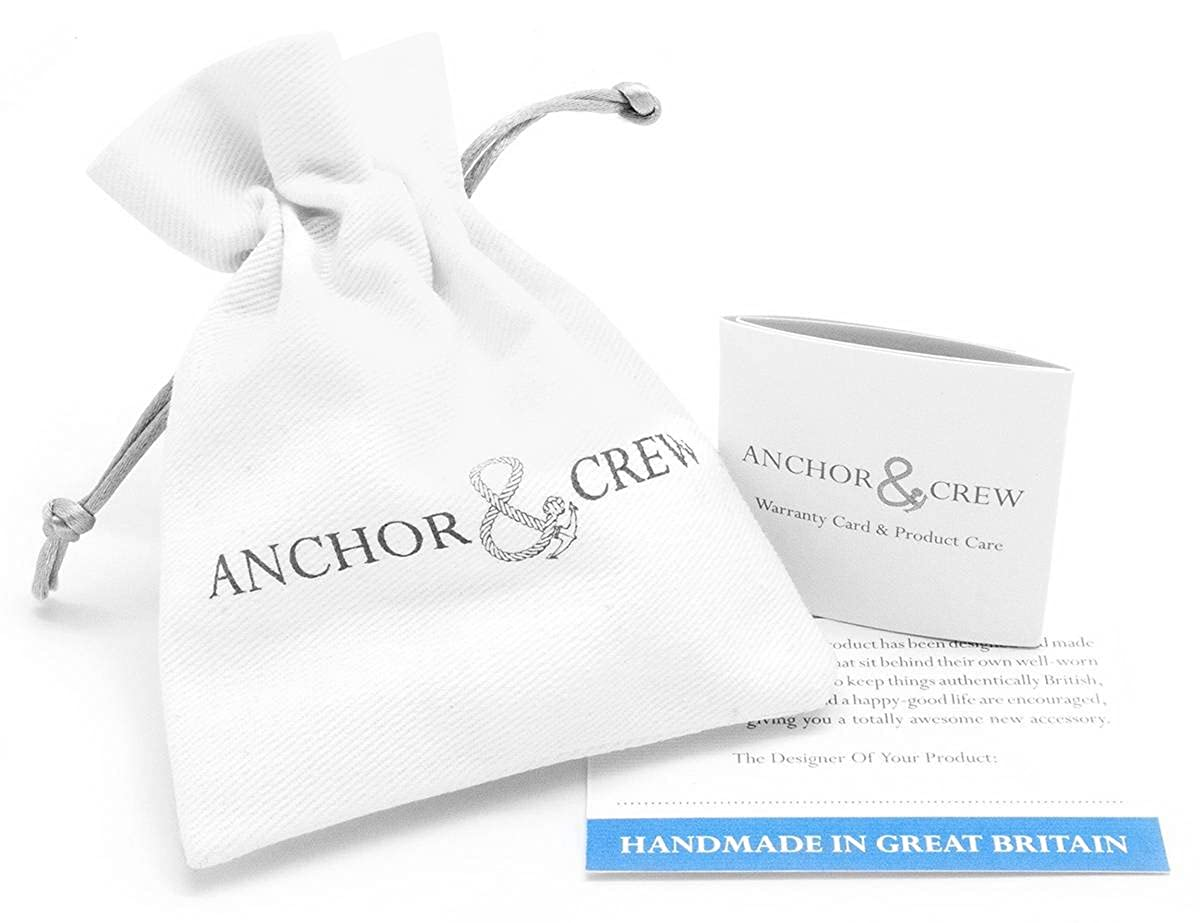 Anchor and Crew Mens London Pulley Pendant Silver