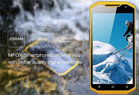 MFOX A8 militar resistente 6 pulgadas Smartphone: Amazon.es ...
