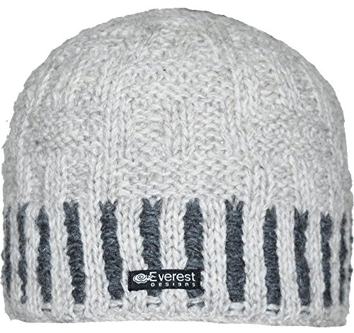 - Everest Designs The Weaver Beanie, Ivory, One Size