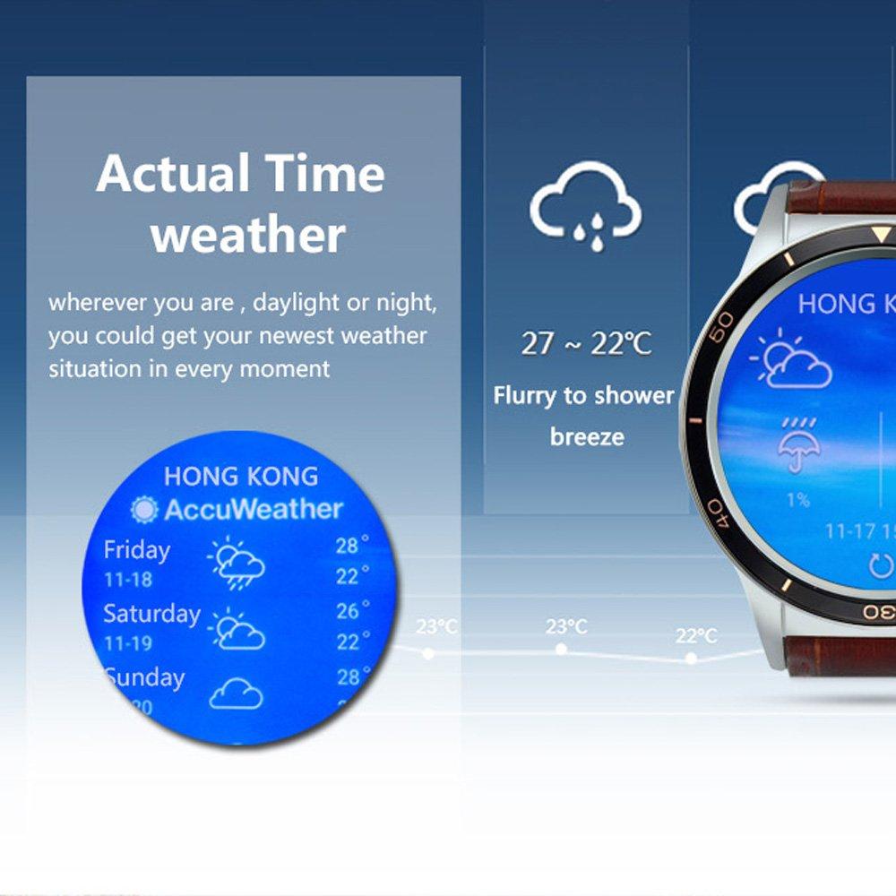 Docooler Y3 Smartwatch Reloj de teléfono AMOLED Pantalla de visión ...
