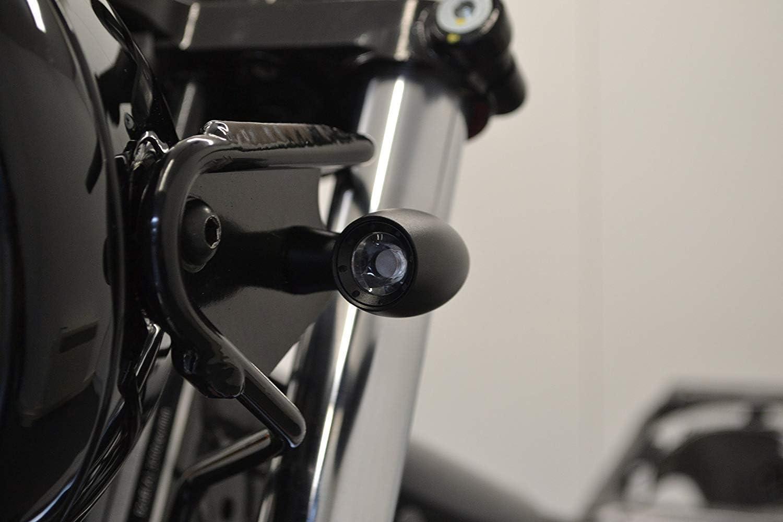 Moto Mini Frecce LED e Corsa Luci per Custom Moto /& Retro Cafe Racers