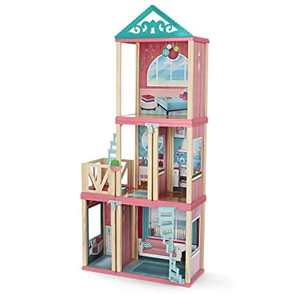 amazon com imaginarium my design dollhouse playset toys games