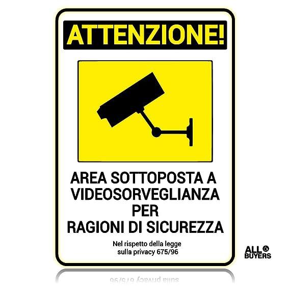 segnaletica videosorveglianza da
