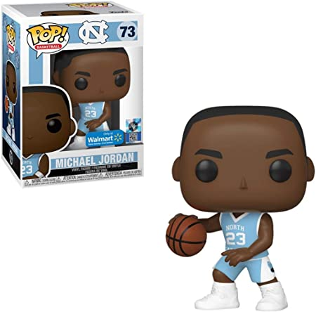 Funko Pop Basketball Unc Michael Jordan Home Jersey Exclusive Amazon Co Uk Toys Games