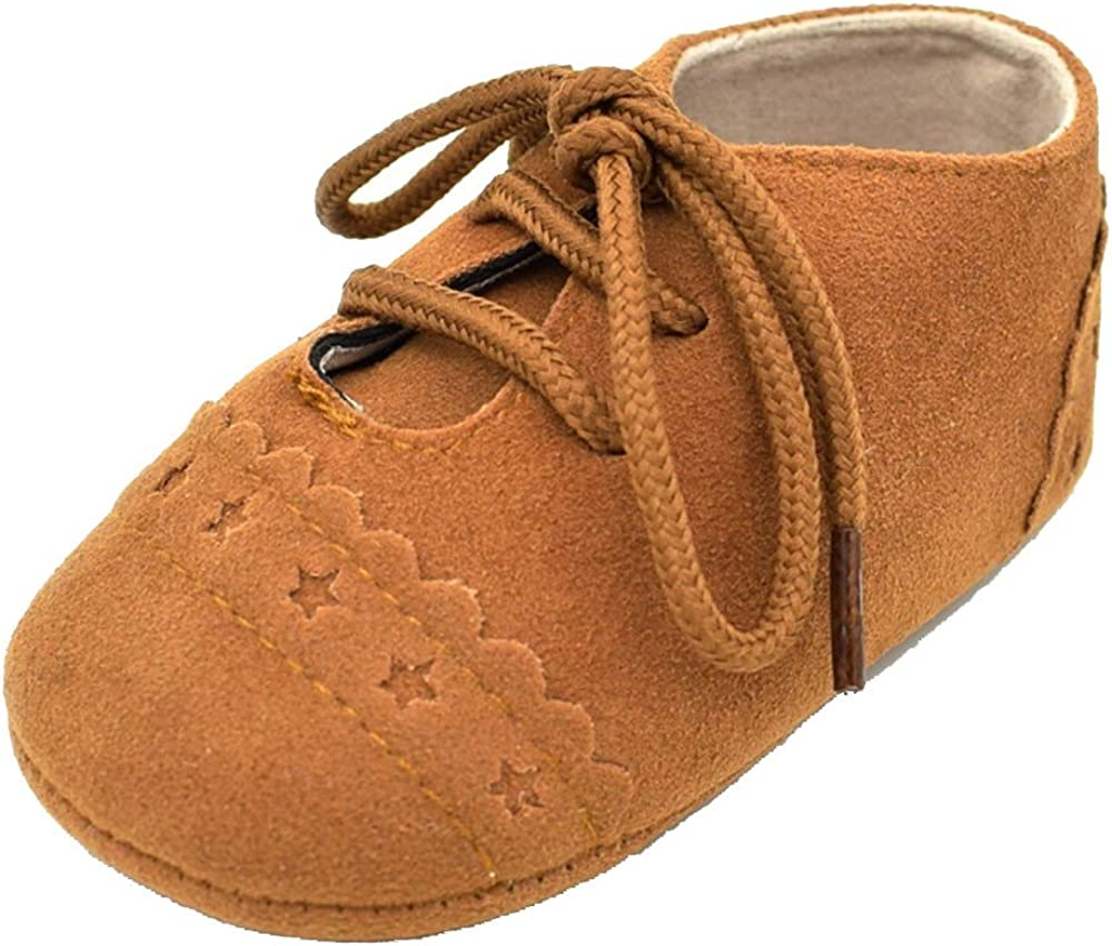Toddler Girls Brown Suede Leather Clogs FurTrimmed Dress Shoes