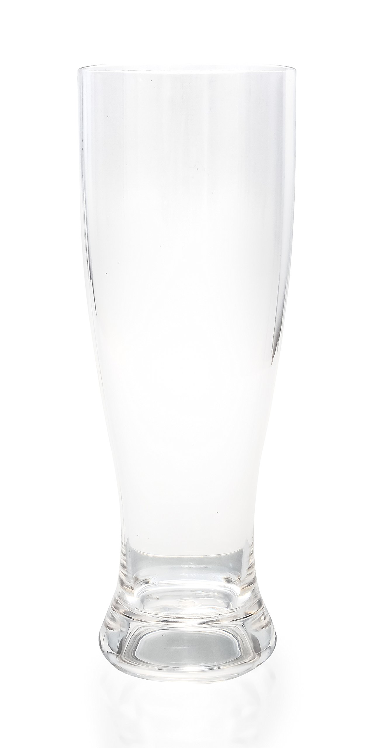 Camco Unbreakable Travel Plisner Beer Glass- 22 Ounce, Dishwasher Safe, BPA Free,  Perfect For Picnics, Cookouts, and The Beach - Set of 8 (43892)