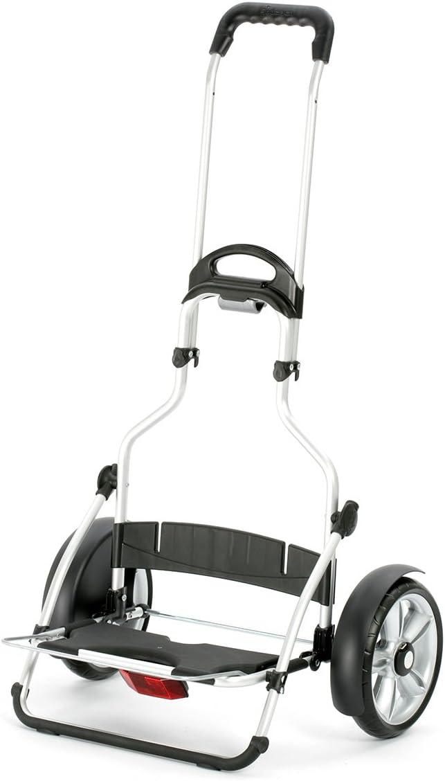 marco aluminio y ruedas con rodamiento de bolas compartimento termico Andersen Carro de compra Royal Plus con bolsa Fado verde volumen 72 l