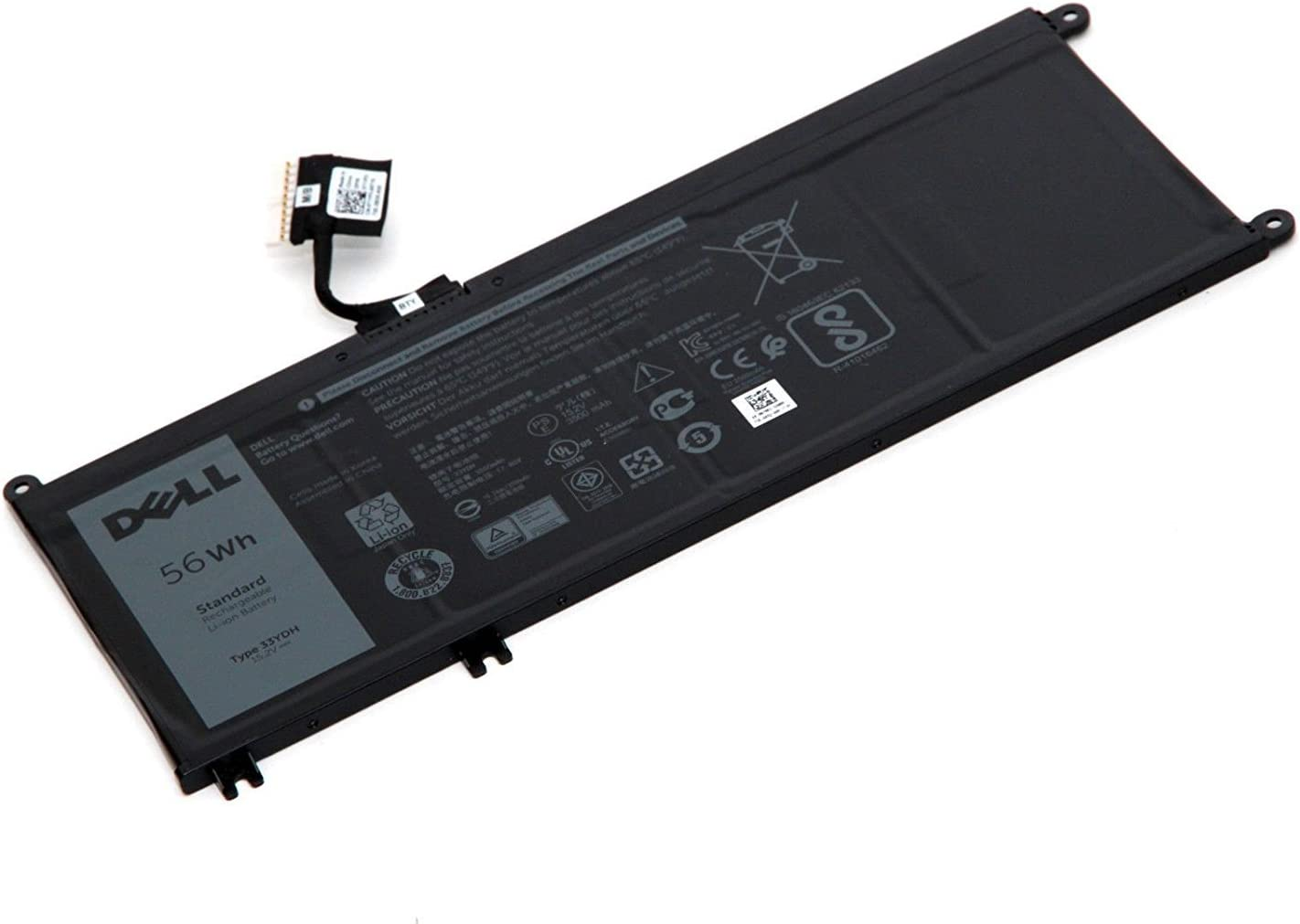 New Genuine Dell Inspiron 17 7778 7779 P30E 56Wh 15.2V Battery 0J9NH2 J9NH2