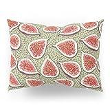 Society6 Figs Pattern Pillow Sham Standard (20'' x 26'') Set of 2